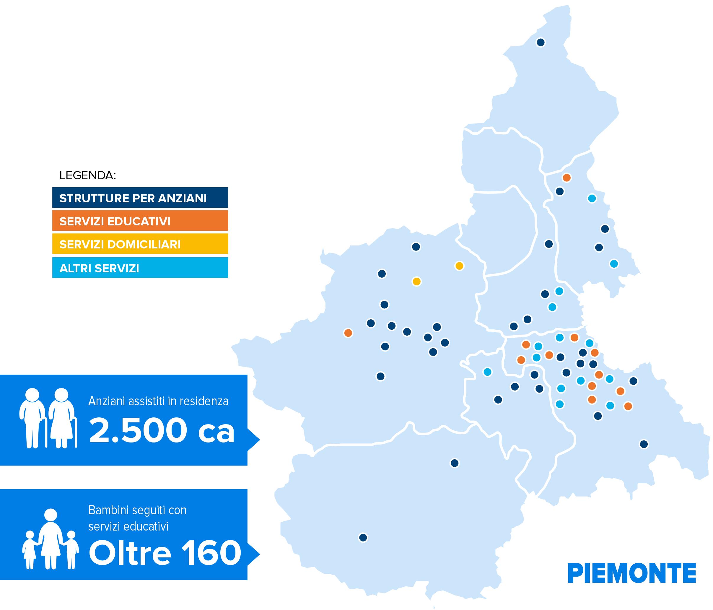 Punto Service servizi gestiti Piemonte
